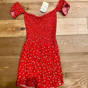 Tilly's Red Floral Jumper